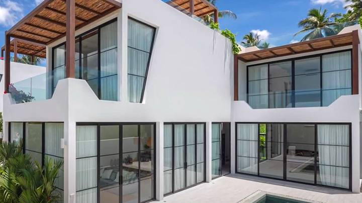 3 bedroom sea view Chandra Villas for sale in Koh Samui, Thailand