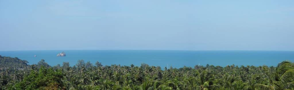 Sea view land plot for sale in Plai Laem ready to build a villa: Sea view land plot for sale in Plai Laem ready to build a villa