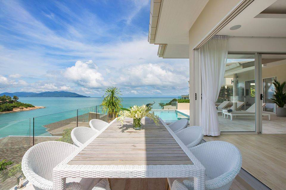 Elegant Contemporary 3 Bedroom Villa with Views Over Samrong Bay: Elegant Contemporary 3 Bedroom Villa with Views Over Samrong Bay