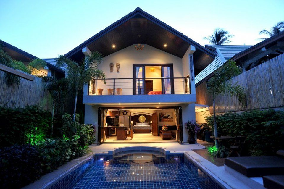 Three bedroom villa 400 metres  from Baan Tai beach