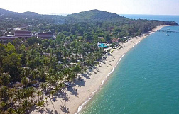 "Land ""30 Rai beach front land in Maenam with a stunning 180 meters beach front"" beachfront, district Maenam, sale for 1 050 000 000 baht"