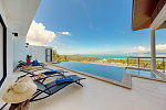 "Villa ""Two 4 bedrooms luxurious Villas located in Maenam with panoramic ocean view"" 4 bedrooms, 5 showers, private pool, sea view, district Maenam, sale for 22 000 000 baht"