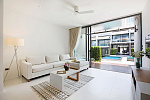 New Two storey Townhouses in Sunway Villas (Choeng Mon): New Two storey Townhouses in Sunway Villas for rent and sale, living room