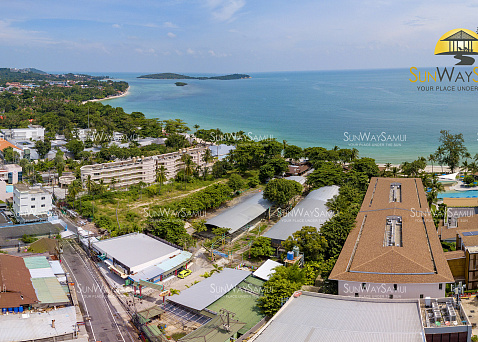 "Land ""Beach front land for sale in the middle of Chaweng beach "" beachfront, sea view, district Chaweng, sale for 180 000 000 baht"
