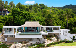 "Villas ""Sea view Villa for Sale at Chaweng Noi"" 4 bedrooms, private pool, sea view, district Chaweng Noi, sale for 26 000 000 baht"