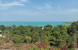 "Land ""1200 sq.m. of panoramic sea view land in an estate in Cheong Mon"" sea view, district Choeng Mon, sale for 15 000 000 baht"