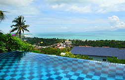"Villa ""3 bedroom house for sale in Maenam"" 3 bedrooms, garden, private pool, sea view, district Maenam, sale for 18 500 000 baht"