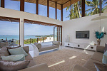 Five start private villa with sea view in Bophut Hills
