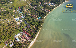 "Land ""4 Rai beachfront at Lipa Noi"" beachfront, district Lipa Noi, sale for 100 000 000 baht"