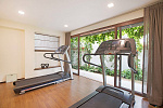 Six Hills 4 Bedroom Villa with Panoramic View of the Gulf of Thailand: Six Hills villa for rent,  gym