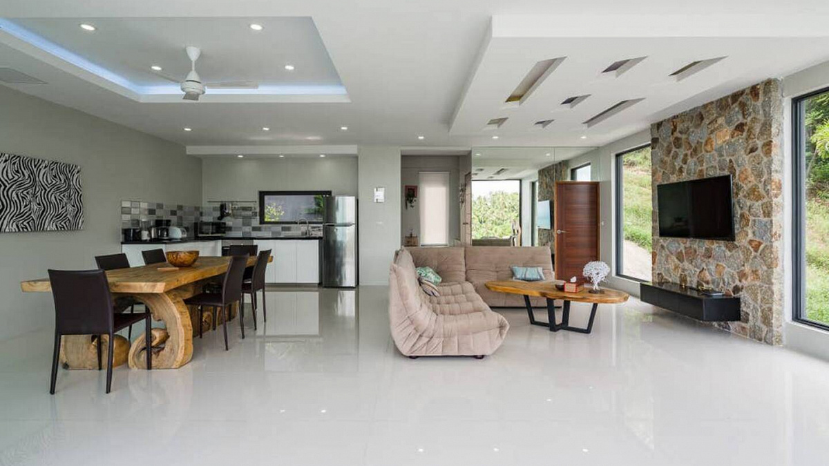 2 bedrooms private pool apartment for sale in Bophut Hills, Koh Samui. : 2 bedrooms private pool apartment for sale in Bophut Hills, Koh Samui.