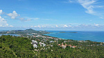 "Land ""Hill Top Land with Sea Views in Chaweng Noi"" sea view, district Chaweng Noi, sale for 8 000 000 baht"