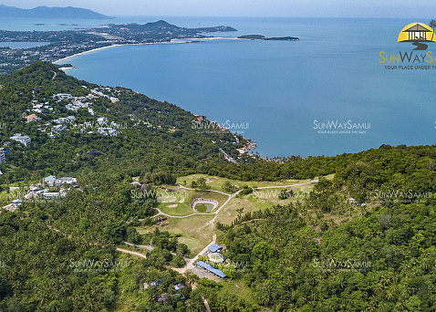 "Commercial property ""Investment opportunity to acquire Golf Course in Koh Samui "" sea view, district Chaweng Noi, sale for роа"