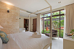 Six Hills 4 Bedroom Villa with Panoramic View of the Gulf of Thailand: Six Hills villa for rent, bedroom