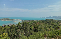 "Land "" 2 Plots of panoramic sea view lands in Cheong Mon"" sea view, district Choeng Mon, sale for 15 000 000 baht"
