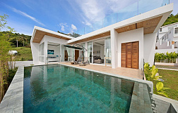 "Villa ""2 Bedrooms elegance pool villa in Chaweng"" 2 bedrooms, private pool, sea view, district Chaweng, sale for 10 000 000 baht"