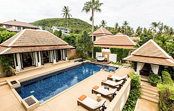 "Villa ""4 bedroom Villa Gekko at Plumeria Place in Bangrak "" 4 bedrooms, garden, private pool, walking distance to the beach, district Bang Rak, sale for 23 000 000 baht"