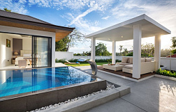 "Villa ""3 bedroom villa in Sunway Villas with 5% net annual guaranteed ROI"" 3 bedrooms, garden, private pool, walking distance to the beach, district Choeng Mon, sale for 12 900 000 baht"