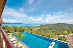 Luxurious 5 bedrooms sea view villa in Bophut Hills : Luxurious 5 bedrooms sea view villa in Bophut Hills for sale