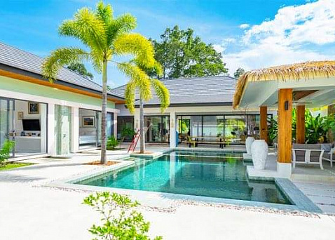 "Villa ""Large 3 Bedroom Balinese style Villa, Maenam"" 3 bedrooms, garden, private pool, district Maenam, sale for 13 900 000 baht"