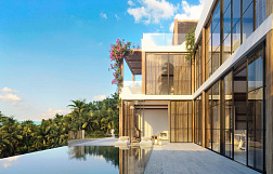 "Villa ""3 bedroom eco style sea view villas for sale in Chaweng Noi"" 3 bedrooms, private pool, sea view, view 360, district Chaweng Noi, sale for 18 000 000 baht"
